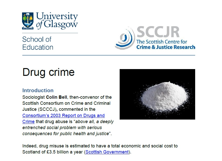 drug use and crime essay Free drugs crime papers, essays, and research papers.