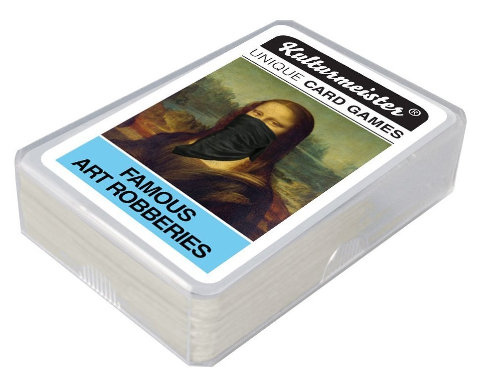 Famous Art Robberies card game crop
